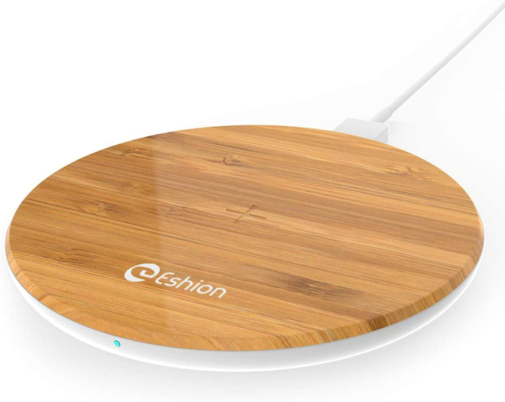 Wireless Charger,Qi-Certified 10W Max Fast Wireless Charging Pad Compatible with iPhone 11/11 Pro/11 Pro Max/XS MAX/XR/XS/X/8,Samsung Galaxy S20/Note 10/S10/S9, AirPods Pro