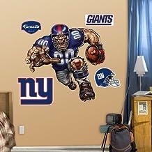 Fathead 14-14122 Wall Decal, New York Giants Die Cut RB Liquid Blue