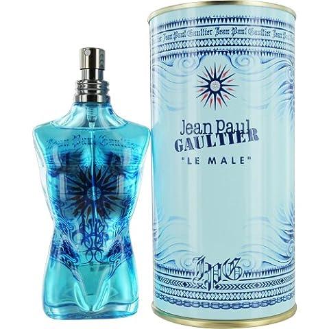 Jean paul GAULTIER Le Male Cologne Spray, 4.2 Ounce - Jean Paul Gaultier Le Male Summer Fragrance
