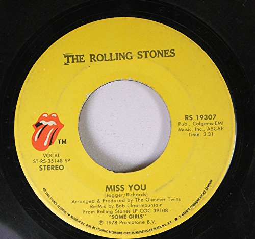 Eye Away (THE ROLLING STONES 45 RPM miss you / FAR AWAY EYES)