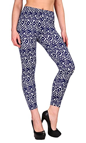 """6 Pack: Women's """"Butter Soft"""" Fleece Lined Leggings One Size – Assorted Colors 51oRqMLH1rL"""