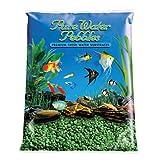 Pure Water Pebbles Aquarium Gravel, 2-Pound, Emerald Green