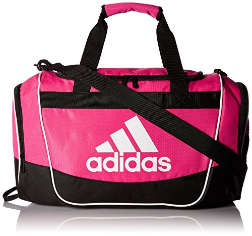 adidas Defender II Small Duffel Bag, Small, Shock Pink