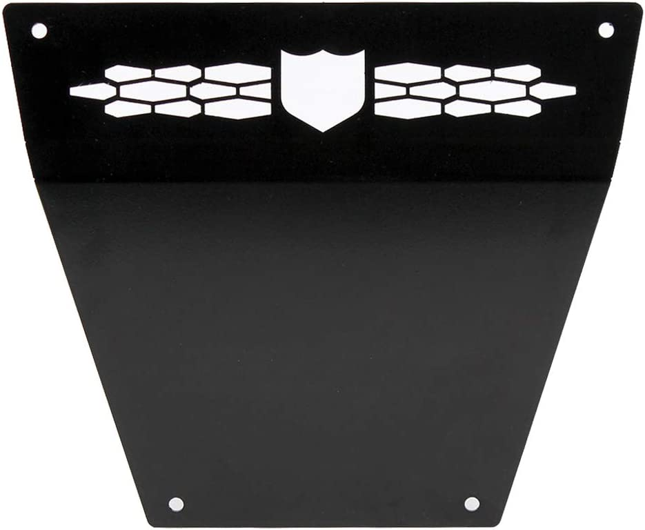 Pro Armor Race Front Bumper Skid Plate Black 2014-2018 Polaris RZR XP 1000 Turbo P141P363BL