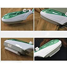 Portable Electric Burst Stream Iron, Handheld Fabric Cloth Laundry Wrinkle Cleaner Dry Steamer Brush,For Travel Home Family use