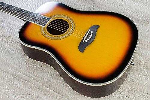Oscar Schmidt OG2 Dreadnought Acoustic Guitar - Tobacco (Wood Dreadnought Guitar)