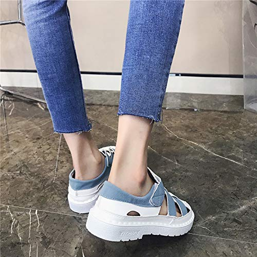 40 EU coloré Chaussures Bleu Bleu ZHRUI Taille wZURXIq