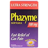 Phazyme Softgels 180mg