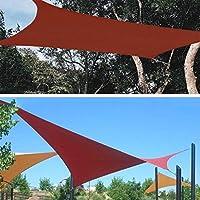 Toldo Vela de Sombra XUEP Triángulo Impermeable UV Bloque Piscina Al Aire Libre Camping Sombra De La Sombrilla Refugio Pantalla De Tela Patio Pérgola Jardín Tarp Cubierta Toldo: Amazon.es: Hogar