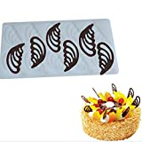 GUAngqi DIY Cake Decorating Tool Holle Angel Wings Shape Silicone Chocolate Mold Cake Shapes Kitchen Baking Chocolate Tool