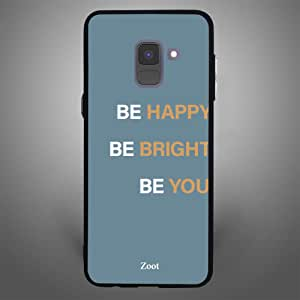 Samsung Galaxy A8 Plus Be Happy, Zoot Designer Phone Covers