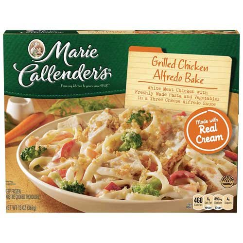 Marie Callenders Grilled Chicken Alfredo Bake Dinners, 13 Ounce -- 8 per case.
