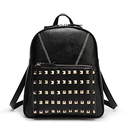 Eysee - Backpack Bag Leatherette Black Women