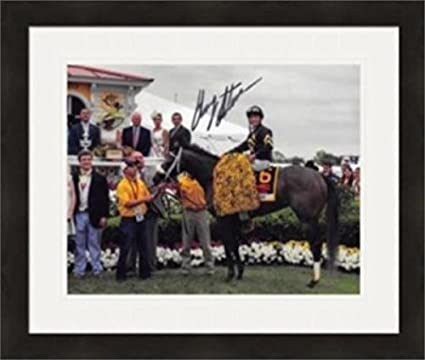 6e9df57074c Image Unavailable. Image not available for. Color  Gary Stevens autographed  8x10 photo (Horse Racing ...
