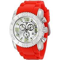 Swiss Legend Men's 10067-02S-RDS Commander Analog Display Swiss Quartz Red Watch