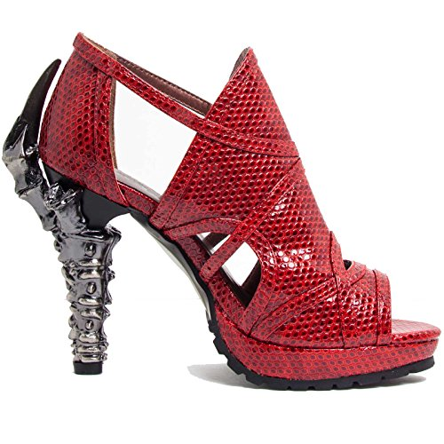 HADES Steampunk Open Toe Sandals Prehistoric Claw Heel for sale  Delivered anywhere in USA