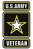 "U.S. Army Veteran Decal 5"""