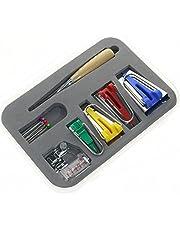 BIGTEDDY - Bias Tape Maker Kit for Sewing Binding Makers