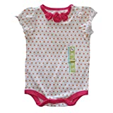 Circo Baby Girl's One Piece Polka Dot Bodysuit - Size 3M