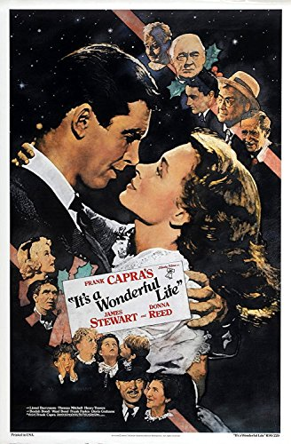 Da Bang IT'S A WONDERFUL LIFE Movie Poster 1942 Jimmy Stewart Christmas 24x36inch