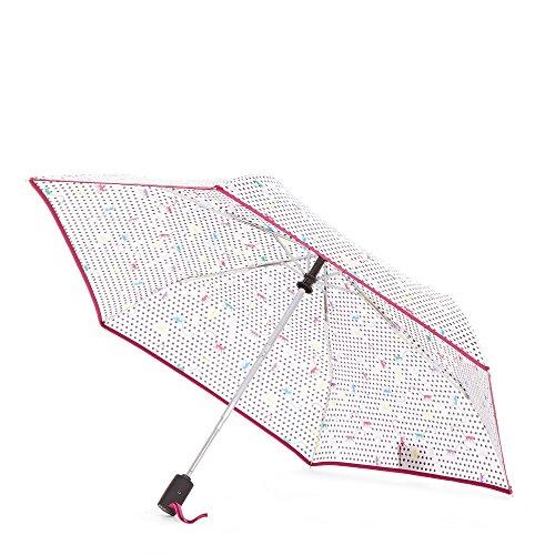 Kipling Women's Auto Open Umbrella One Size Monkey Dot Mania