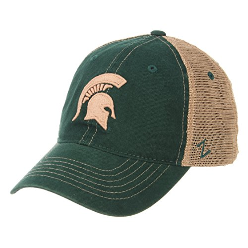 - Zephyr NCAA Michigan State Spartans Men's Institution Relaxed Cap, Adjustable, Green
