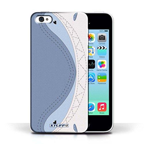 iChoose® Print Motif Coque de protection Case / Plastique manchon de telephone Coque pour Apple iPhone 5C / Collection Cousu des Animaux Effet / Requin