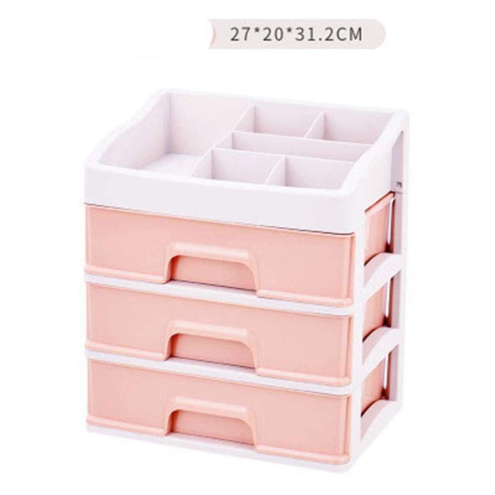 e3d05c04f382 Amazon.com: iHomei Plastic Makeup Organizer Cosmetic Drawer Makeup ...