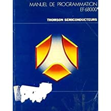 Manuel de programmation EF 68000, thomson semiconducteurs