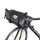 Handlebar Bags Bike Front Bag Waterproof MTB Front Pouch Toptube Pannier Pack Basket Large Capacity Detachable Cycling Bags 3-7L