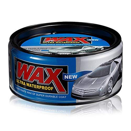 Rainrain27 Car Polishing Plated Crystal Wax Shiny Polishing Carnauba Paste Car Wax 300g,Car Care Color Waterproof Wash Polishing Vintage Vehicles Consistency Extreme Deep Shine