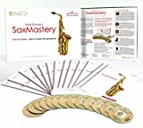 WATCH VIDEO of the BEST NEW ALTO SAXOPHONE CONTEMPORARY 1 YEAR COURSE! Learn the Skills you need to play by ear like a Smooth Jazz Pro from your 1st note! SaxMastery:13 Books & 13 CDs boxed course
