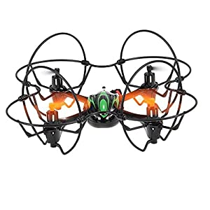 TheeFun Mini RC Helicopter Drone 2.4Ghz 6-Axis Gyro 4 Channels Headless Quadcopter