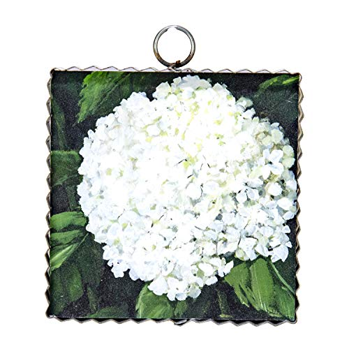 (The Round Top Collection - Gallery Hydrangea Sm Wall Art - Metal & Wood )