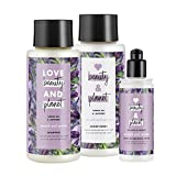 #8: Love Beauty And Planet Smooth and Serene Shampoo, Conditioner and Leave In Conditioner, Argan Oil & Lavender, 13.5 oz, 2 ct and 4 oz