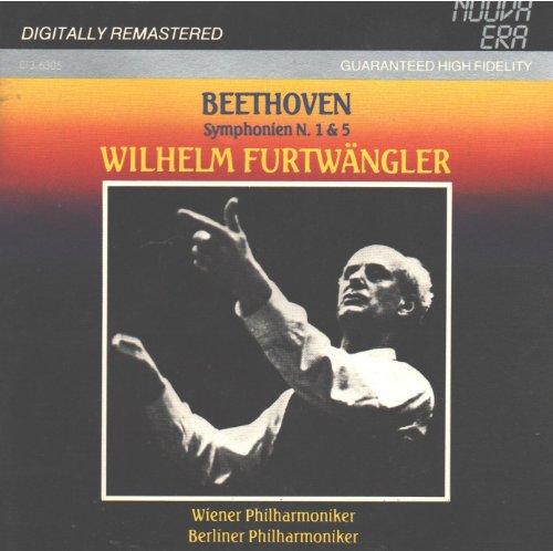 Beethoven: Symphony No. 1 (29/11/1952, Vienna) & Symphony No. 5 (25/5/1954, Berlin) (Nuova Era)