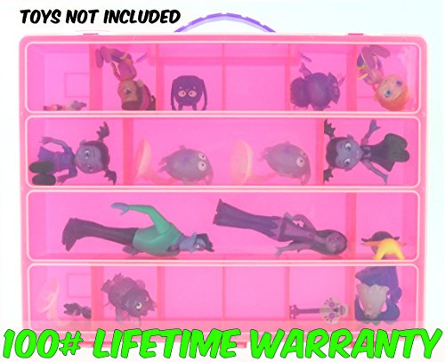 Inflatable T Rex Costume Ninja (Life Made Better Toy Storage Organizer - Compatible With Just Play Vampirina TM Fantastic Friends Set - Durable Carrying Case- Pink)