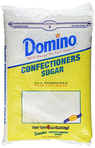 Price comparison product image Domino Confectioners Sugar 10x Powdered Pure Cane Sugar,  4 Lb