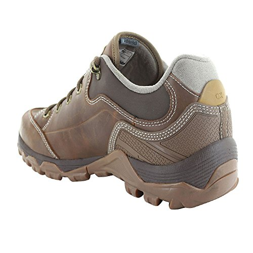 Hi-Tec Mens Ox Discovery Walking Trainer Lace Up Shoe Brown SYiLC5Bc