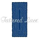 Tattered Lace Torn Edge Tall Slim Cutting Die Set TLD0312