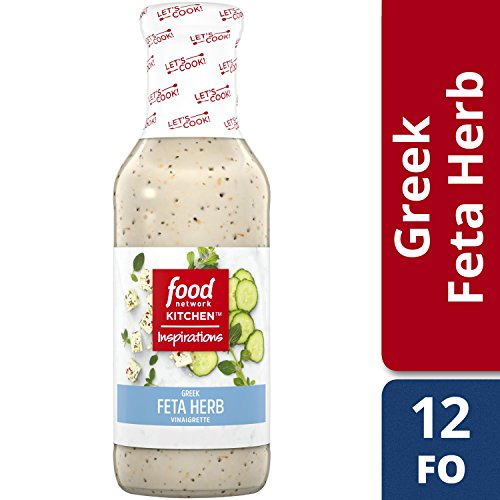 Feta Vinaigrette (Food Network Kitchen Inspirations Greek Feta Herb Vinaigrette, 12 oz)