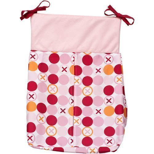 Hugs & Kisses Girl Diaper Stacker - Simply Baby by Simply Baby by Simply Baby