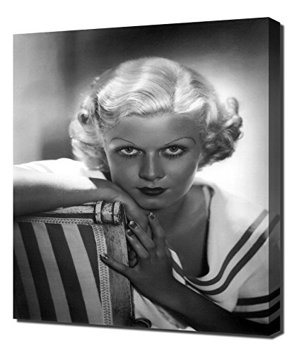 - Harlow, Jean - Wall Picture - Canvas Print