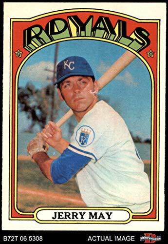 - 1972 Topps # 109 Jerry May Kansas City Royals (Baseball Card) Dean's Cards 4 - VG/EX Royals