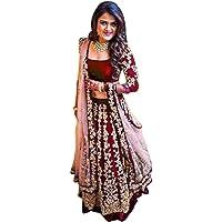 Skyview Fashion Vrouwen Ethinc Feestelijke Draaien Indiase Pakistaanse Lengha Bruiloft Party Bollywood Lehenga met…
