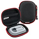 Hard EVA 'Shell' Storage Case / Bag with Protective Silicone Padding Compatible with KEDSUM Mini Wireless Bluetooth 4.0 Invisible Earphones - by DURAGADGET