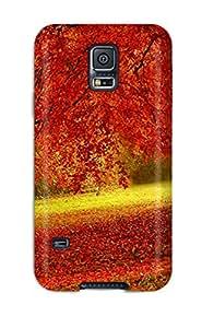 For Galaxy S5 Premium Tpu Case Cover Alone In A Field Protective Case