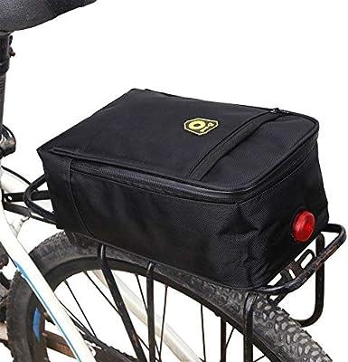 Bolsa de Bicicleta, Alfombra de Maletero alforja de Bicicleta ...