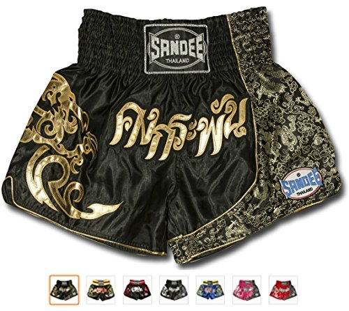 Sandee Authentic Pro Muay Thai Shorts + Many Colors And Sizes + 30 Day Guarantee