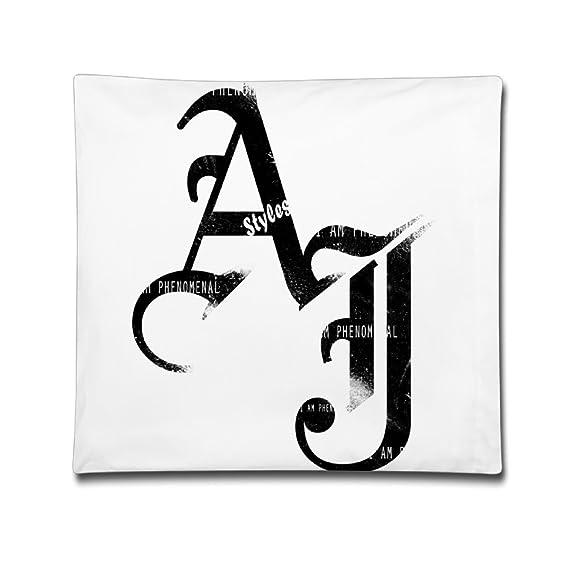 Iaiaya Aj Styles Logo Wrestling Pillow Case 1818 Inch Amazon